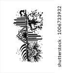 black and white work   Shutterstock .eps vector #1006733932