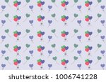 pink blue green colorfulshape... | Shutterstock .eps vector #1006741228