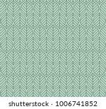 geometric leaves vector...   Shutterstock .eps vector #1006741852