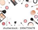 professional makeup tools.... | Shutterstock . vector #1006753678