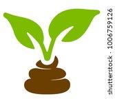 garden natural fertilizer flat... | Shutterstock .eps vector #1006759126