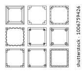 asian frame ornament  pattern... | Shutterstock .eps vector #1006759426