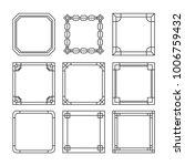 asian frame ornament  pattern...   Shutterstock .eps vector #1006759432