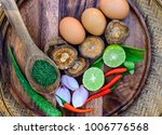 spices thai food for health. | Shutterstock . vector #1006776568