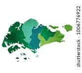 singapore world map country icon | Shutterstock .eps vector #1006776922