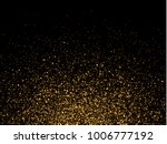 gold glitter particles on... | Shutterstock .eps vector #1006777192