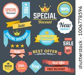 vintage retro vector logo for... | Shutterstock .eps vector #1006778596