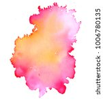 colorful abstract watercolor... | Shutterstock .eps vector #1006780135