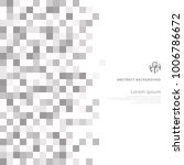 abstract geometric gray and... | Shutterstock .eps vector #1006786672