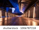 a walking path along the... | Shutterstock . vector #1006787218