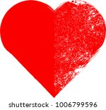 grunge hearts.distressed... | Shutterstock .eps vector #1006799596