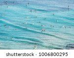 aerial view of beach travel... | Shutterstock . vector #1006800295