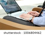 business man working and... | Shutterstock . vector #1006804462