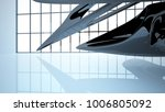 abstract dynamic interior with... | Shutterstock . vector #1006805092