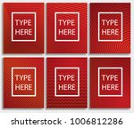 abstract halftone poster... | Shutterstock .eps vector #1006812286