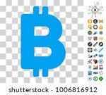bitcoin letter icon with bonus...