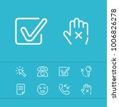 cursor icon with checkbox ...