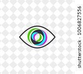 icon abstract eye. logo of... | Shutterstock .eps vector #1006827556