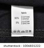 clothing label with laundry... | Shutterstock . vector #1006831222