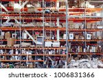 warehouse storage of retail... | Shutterstock . vector #1006831366