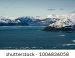 First snow of the summer on Axel Heiberg Island in Canada