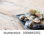 fresh enamel venus shell ... | Shutterstock . vector #1006842352