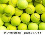 tennis balls closeup   Shutterstock . vector #1006847755