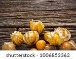 shot of sweet fruits cape... | Shutterstock . vector #1006853362