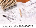 electrical diagrams ... | Shutterstock . vector #1006854022