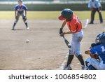 little league baseball game | Shutterstock . vector #1006854802