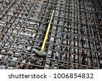 installation of rebars at jetty   Shutterstock . vector #1006854832