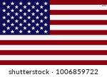 flag of america  usa. symbol of ... | Shutterstock .eps vector #1006859722