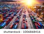 logistics and transportation of ... | Shutterstock . vector #1006868416