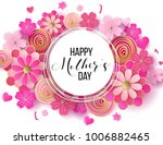 happy mother's day layout... | Shutterstock .eps vector #1006882465