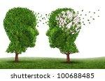 living with a dementia patient... | Shutterstock . vector #100688485
