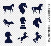 Stallion Icons. Set Of 9...