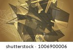bright gold illustration with...   Shutterstock . vector #1006900006
