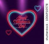 happy valentines day...   Shutterstock .eps vector #1006910578