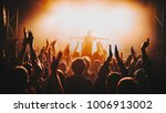 silhouette of the soloist  ... | Shutterstock . vector #1006913002