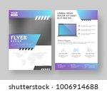 design annual report  cover ...   Shutterstock .eps vector #1006914688