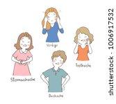 vector illustration character... | Shutterstock .eps vector #1006917532