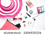 set of decorative cosmetics for ... | Shutterstock . vector #1006920256