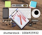 items for doing business in the ... | Shutterstock . vector #1006925932