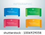 paper info graphic banners... | Shutterstock .eps vector #1006929058