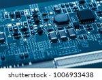 circuit board. electronic...   Shutterstock . vector #1006933438