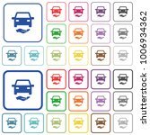car insurance color flat icons... | Shutterstock .eps vector #1006934362