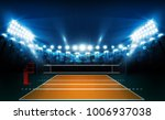 volleyball court arena field... | Shutterstock .eps vector #1006937038