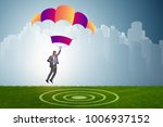 young businessman falling on... | Shutterstock . vector #1006937152