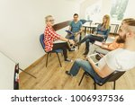 team collaboration meeting... | Shutterstock . vector #1006937536