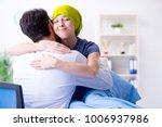 cancer patient visiting doctor...   Shutterstock . vector #1006937986